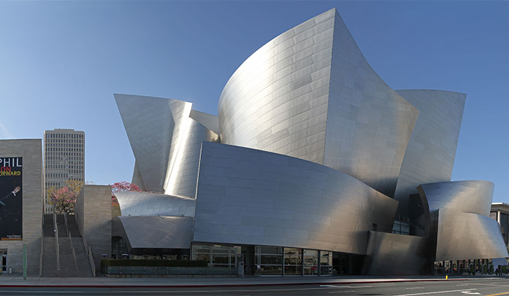 A fest of classical music in Los Angeles Disney hall