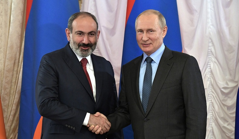 The President of the Russian Federation sent a congratulatory message on the occasion of Nikol Pashinyan's birthday