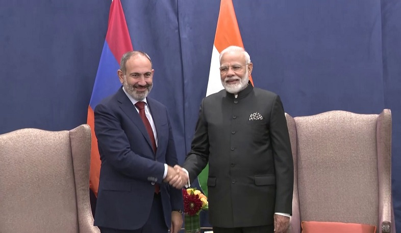 The Prime Minister of India wished Nikol Pashinyan good health and speedy recovery