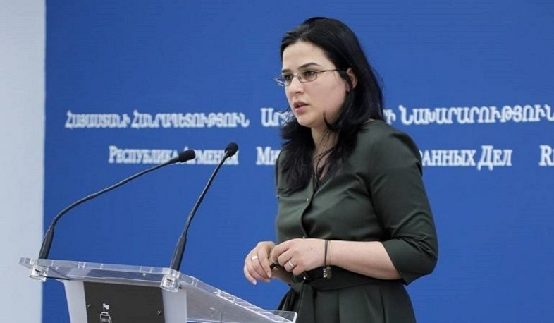 Azerbaijan's top leadership is not ready for peace. RA FM Spokesperson