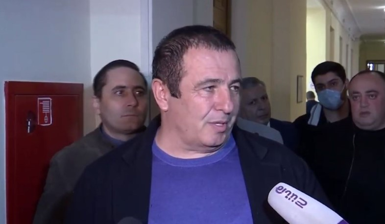 The NSS is conducting a search in Gagik Tsarukyan's house