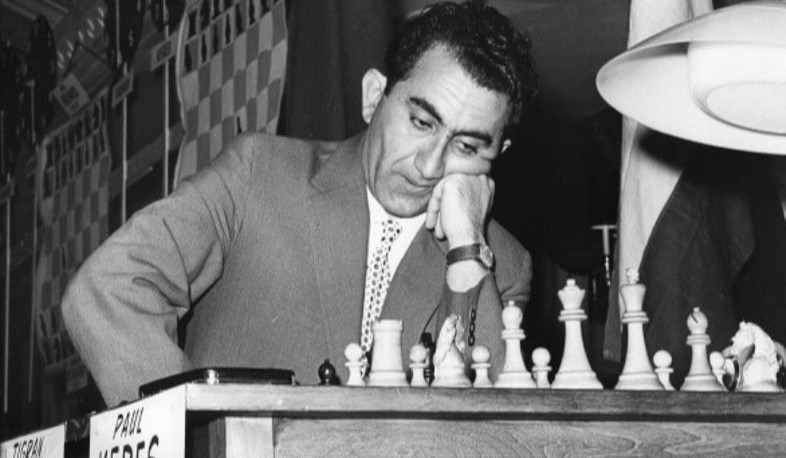 Today is the birthday of the Armenian chess giant