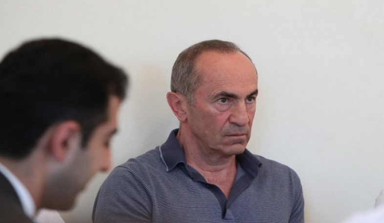 Robert Kocharyan is free. The bail of 2 billion drams is paid