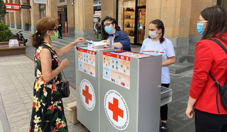 Volunteers will distribute masks not only in Yerevan, but also in the regions. Prime Minister
