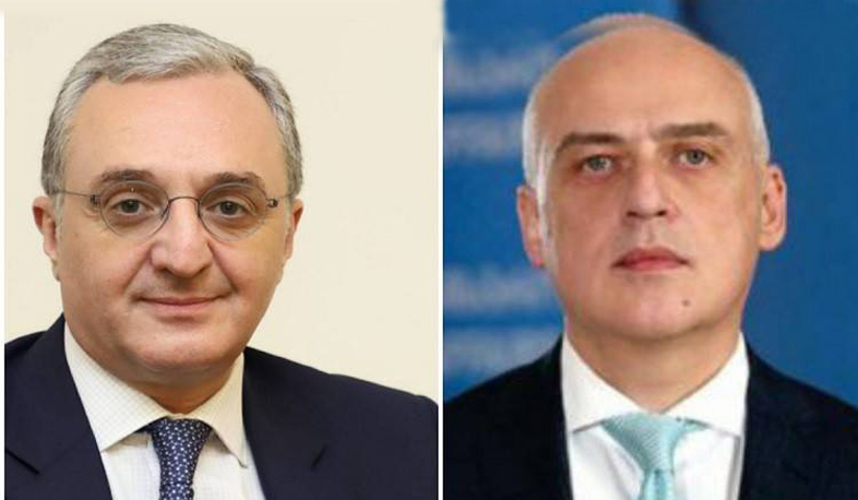 Phone conversation of  RA Foreign Minister Zohrab Mnatsakanyan with David Zalkaliani, the Foreign Minister of Georgia