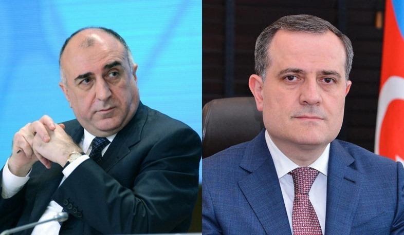 Elmar Mammedyarov is not the Minister of Foreign Affairs anymore, he was replaced by Jeyhun Bayramov