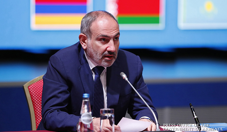 Azerbaijan cannot force us to make unreasonable and unilateral concessions. PM Pashinyan attends Eurasian Intergovernmental Council meeting in Minsk