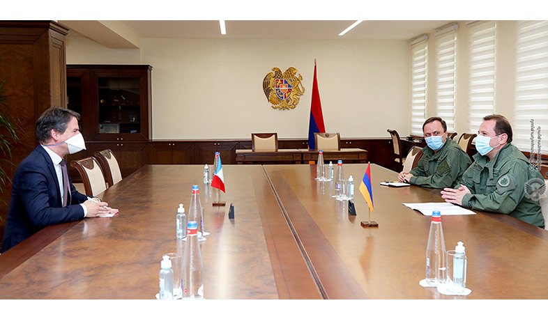 David Tonoyan met with the Ambassador of France