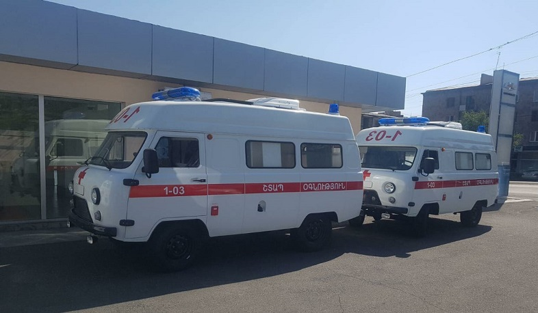 21 ambulances were purchased with the state budget funding. Pashinyan
