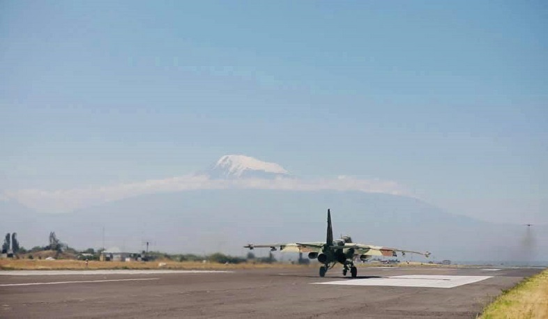 Armenian Air Forces conducting exercises