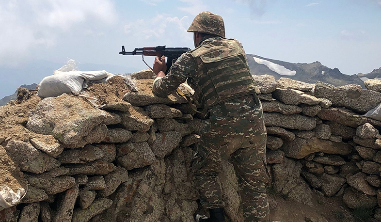 The enemy fired about 2800 shots in the direction of the Armenian positions. Defense Army