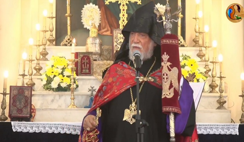 The members of the delegation from Armenia arrived in Lebanon and took part in the liturgy