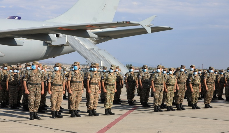 Another contingent of Armenian peacekeepers left for Afghanistan