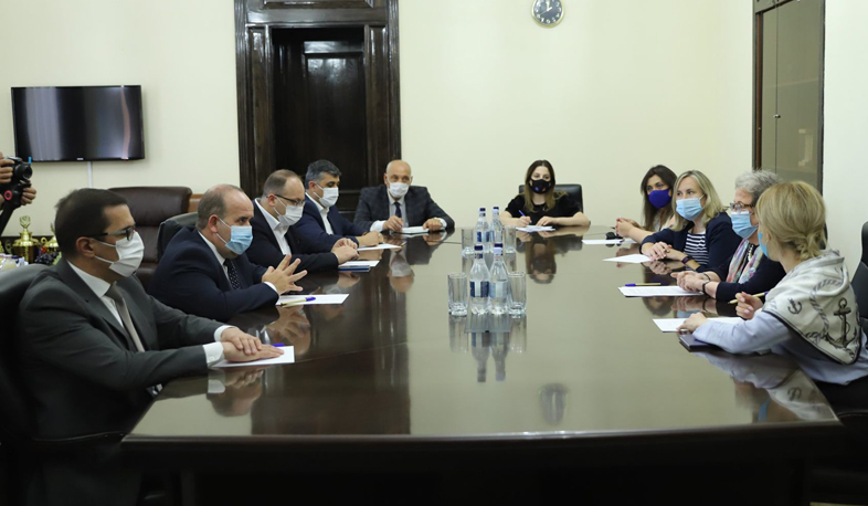 The Governor of Shirak received the delegation led by the EU Ambassador to Armenia