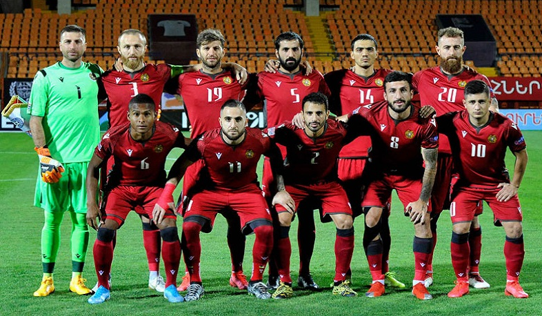 The Armenian national football team is 101st in the FIFA rankings