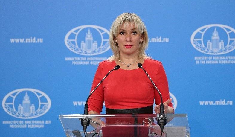 Maria Zakharova spoke about the Karabakh conflict and the news of the settlement of Lebanese-Armenians in Artsakh