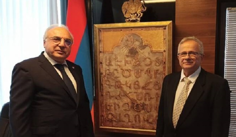 The Armenian Embassy has  officially opened in Israel