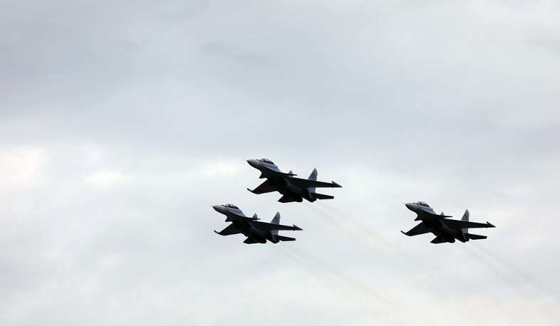 Armed forces planes will fly over Yerevan on September 21