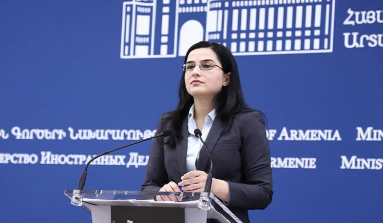 Aliyev's statements demonstrate his inability as a leader. RA MFA Speaker