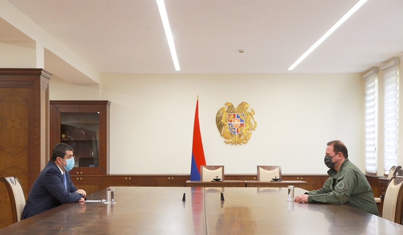 The President of Artsakh met with David Tonoyan in Yerevan