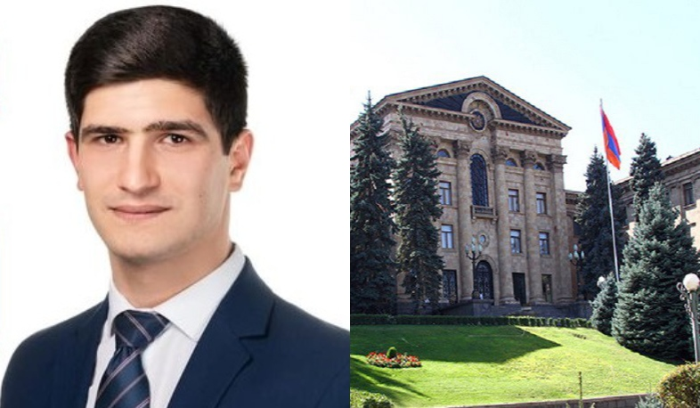 Arsen Julfalakyan's mandate will be given to Narek Ghahramanyan