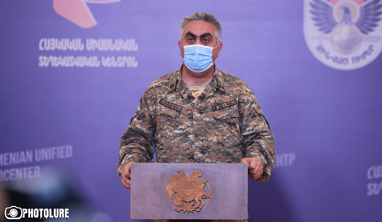 The battles continue, the Armenian Armed Forces have significant successes. Artsrun Hovhannisyan