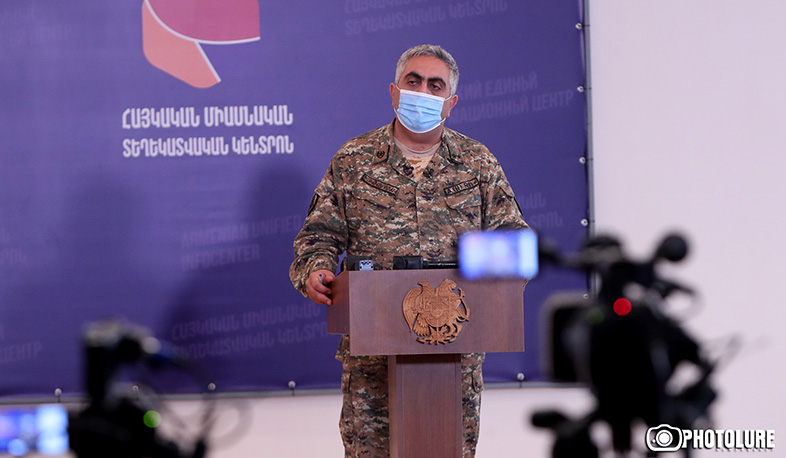 The enemy launched a new offensive operation in the Araks valley and Mataghis-Talish sections. Hovhannisyan