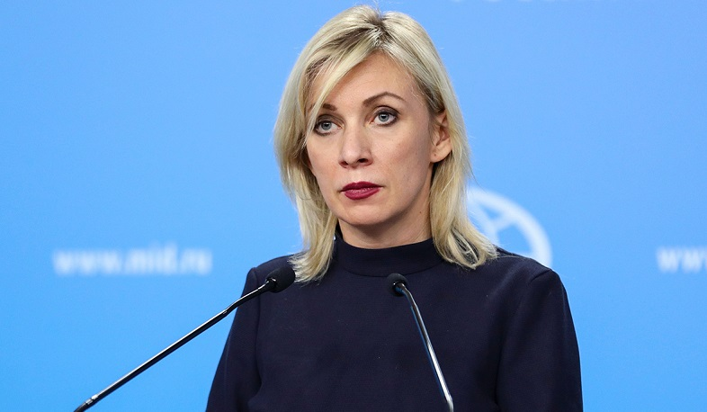 We call for maximum restraint and stopping the bloodshed. Maria Zakharova