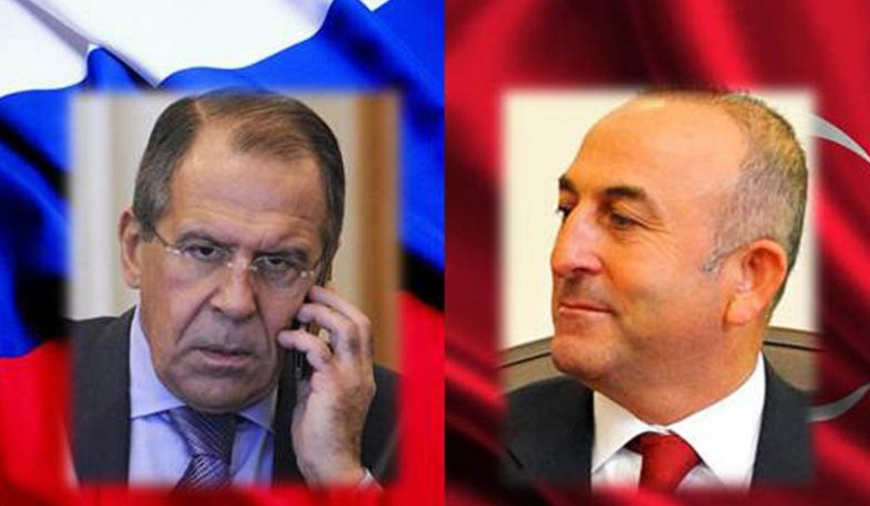Lavrov and Cavusoglu discussed the situation in Nagorno Karabakh