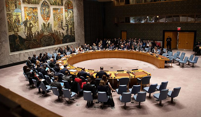 The UN Security Council will discuss the current situation in Nagorno Karabakh on Monday. RIA Novosti