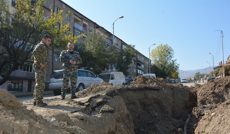 Stepanakert has already been cleared of exploded and unexploded bombs
