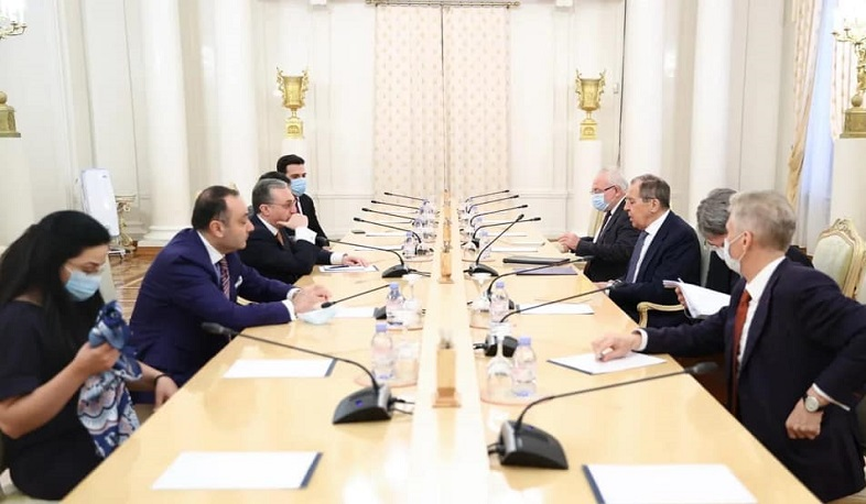 Mnatsakanyan-Lavrov meeting took place in Moscow