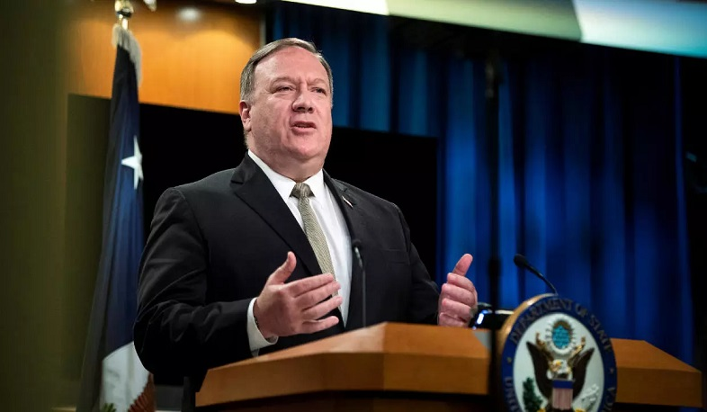 Third countries must stay away from the conflict. Pompeo
