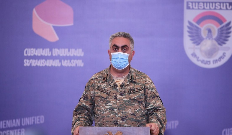 Armed Forces stopped the enemy's attempts to advance. Hovhannisyan