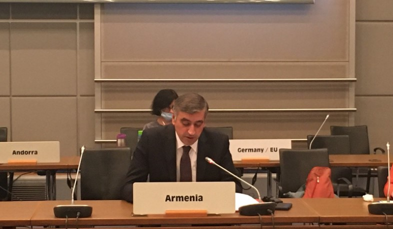 RA Permanent Representative to the OSCE spoke on the Azerbaijan's aggression against Artsakh and Armenia