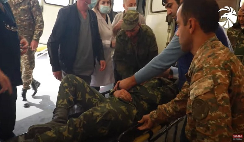The enemy has targeted the southern border of Armenia, there are wounded. Video