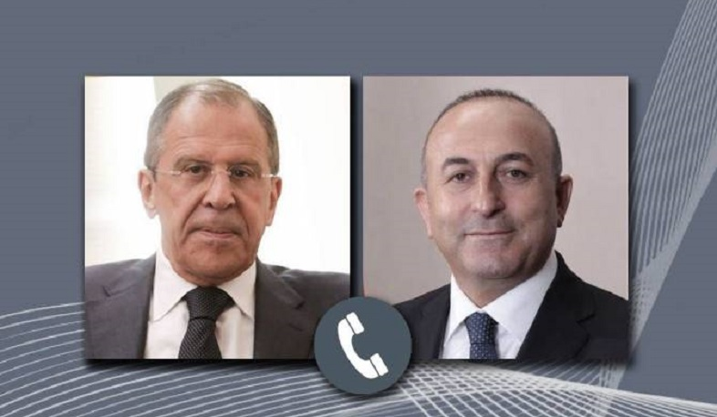 Lavrov and Cavusoglu discussed the Karabakh conflict during a telephone conversation