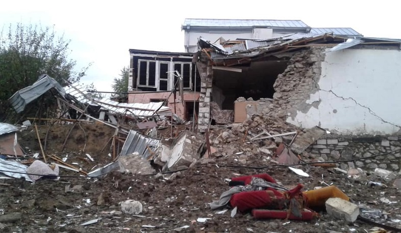 In the last minutes, Stepanakert was shelled 5 times. NKR InfoCenter