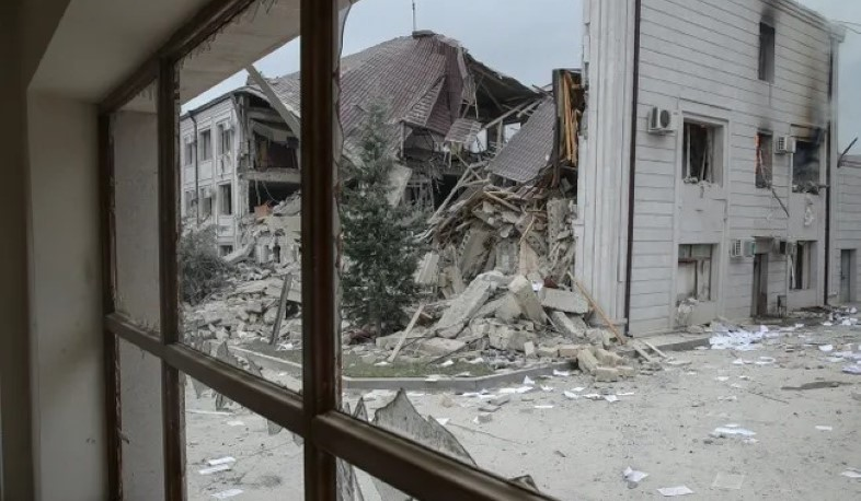 Stepanakert, Shushi and nearby peaceful settlements were shelled from