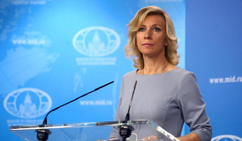 Russia is very concerned about the deaths of civilians. Maria Zakharova