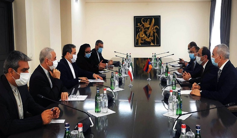 Foreign ministries of Armenia and Iran hold political consultations