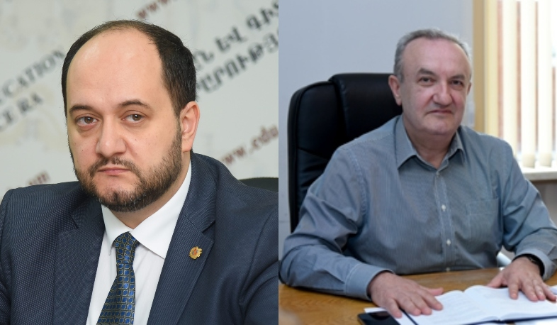 Vahram Dumanyan has been appointed Minister of ESCS of the Republic of Armenia