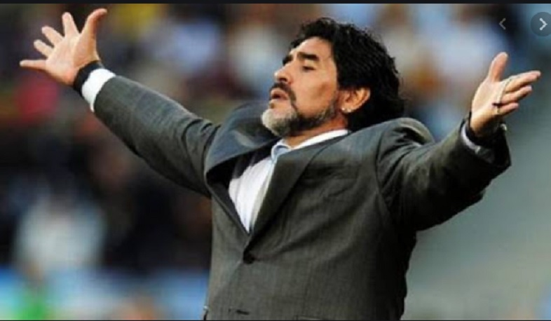 Diego Maradona passed away