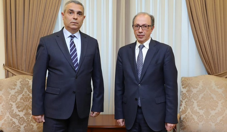 The FMs of Armenia and Artsakh discussed the prospects for the settlement of the NK conflict