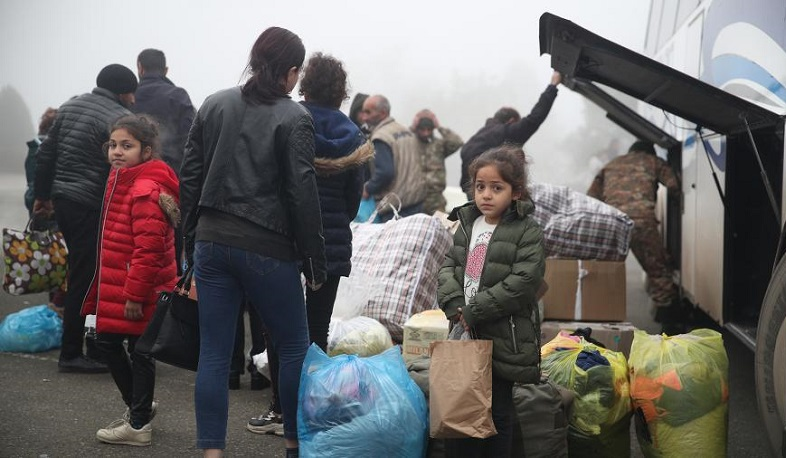 Another 2,115 Artsakhis returned to Nagorno Karabakh today