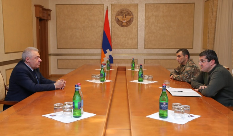 The meeting of the Artsakh President and the RA Minister of Defense took place