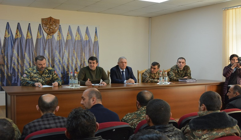 Artsakh President and RA Defense Minister met with the relatives of the missing and captured servicemen