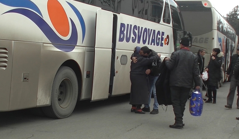 More than 460 people returned to Stepanakert in one day