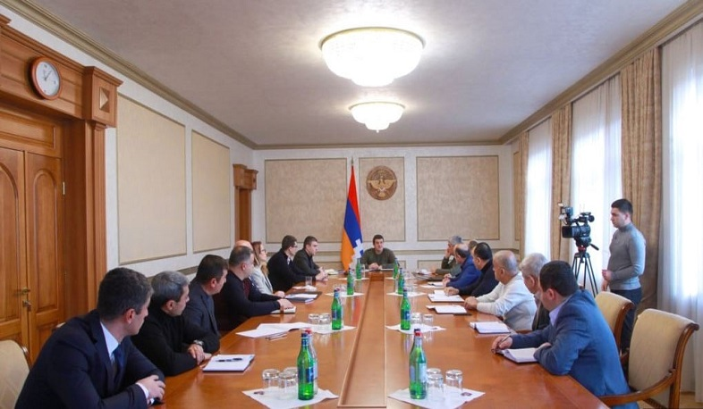 The President of Artsakh convened an extended working consultation