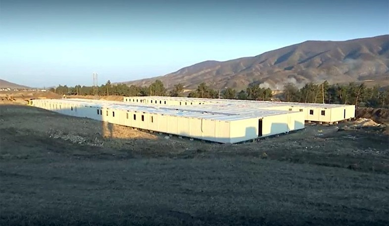 A new block-modular settlement for peacekeepers has been built in Artsakh
